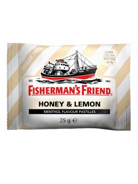 Fisherman's Friend Honey And Lemon.